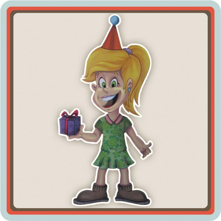 De trekpop is een uitnodiging voor een verjaardagsfeestje. Ben jij opzoek naar een originele uitnodiging die je kunt versturen naar al je vriendjes en vriendinnetjes dan is deze trekpop misschien iets voor jou. Deze vrolijke uitnodiging is gemaakt voor alle meiden die een verjaardagsfeestje willen geven en voor alle jongens is er een trekpop boy.