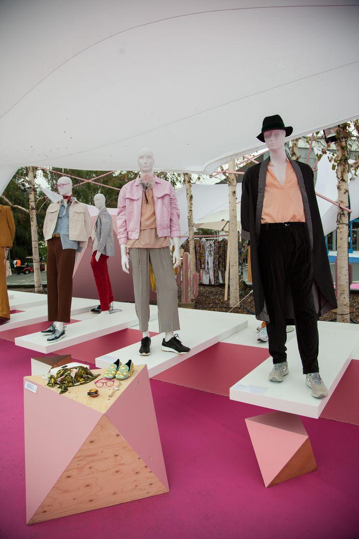 Les mannequins de Cofrad au salon Who's next printemps/été 2017