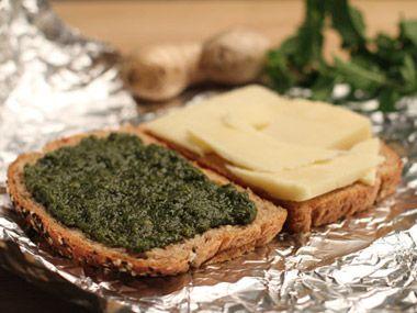 Ravinder Bhogal's Green Mango Mint Chutney and Cheese Sandwich Recipe - Daily Candy