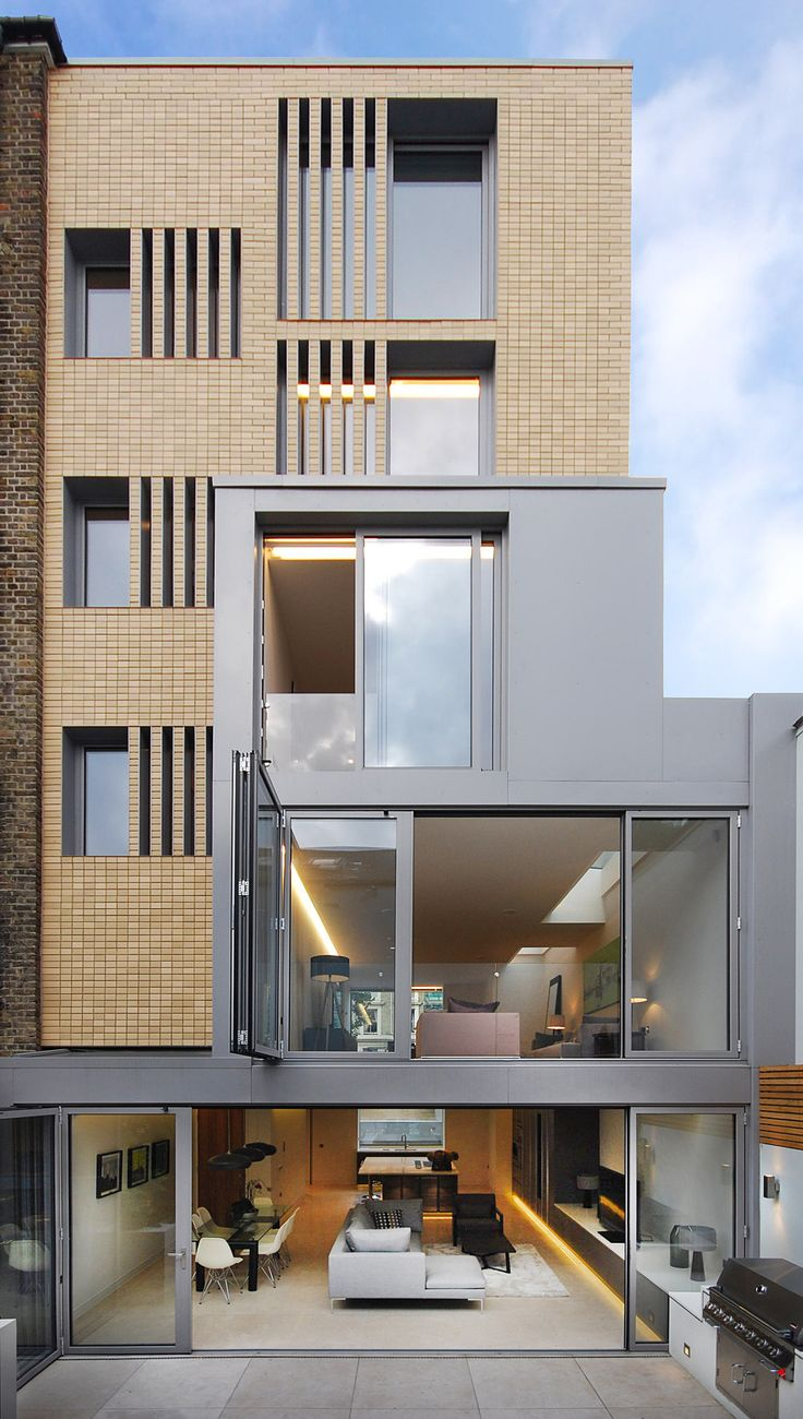 Archiemons • Number Ninety - New Build House In Holland Park Central London