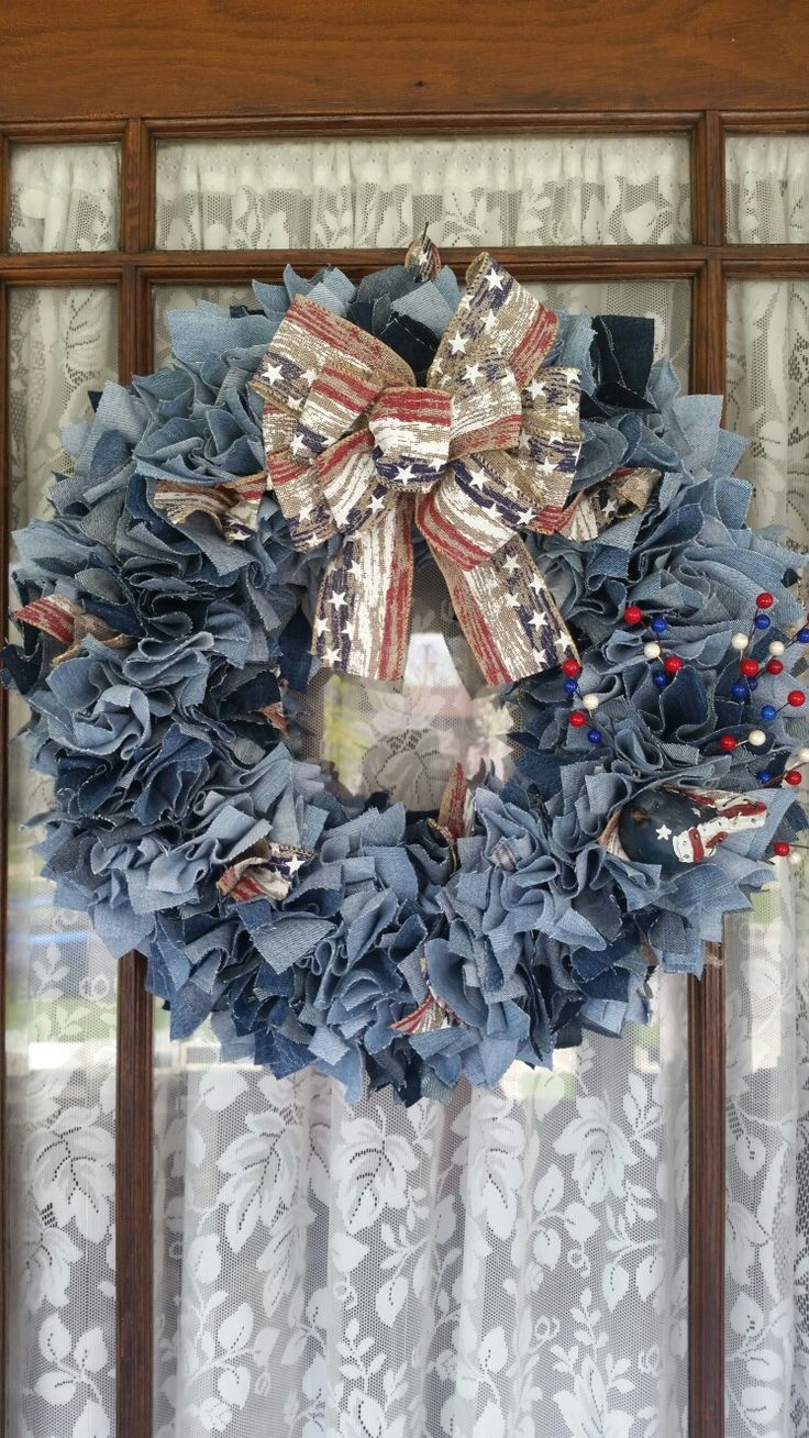 Best 25 Straw Wreath Ideas On Pinterest 4th Of July