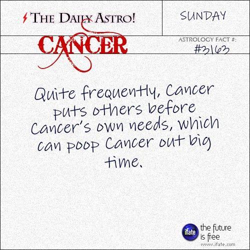 horoscope daily cancer