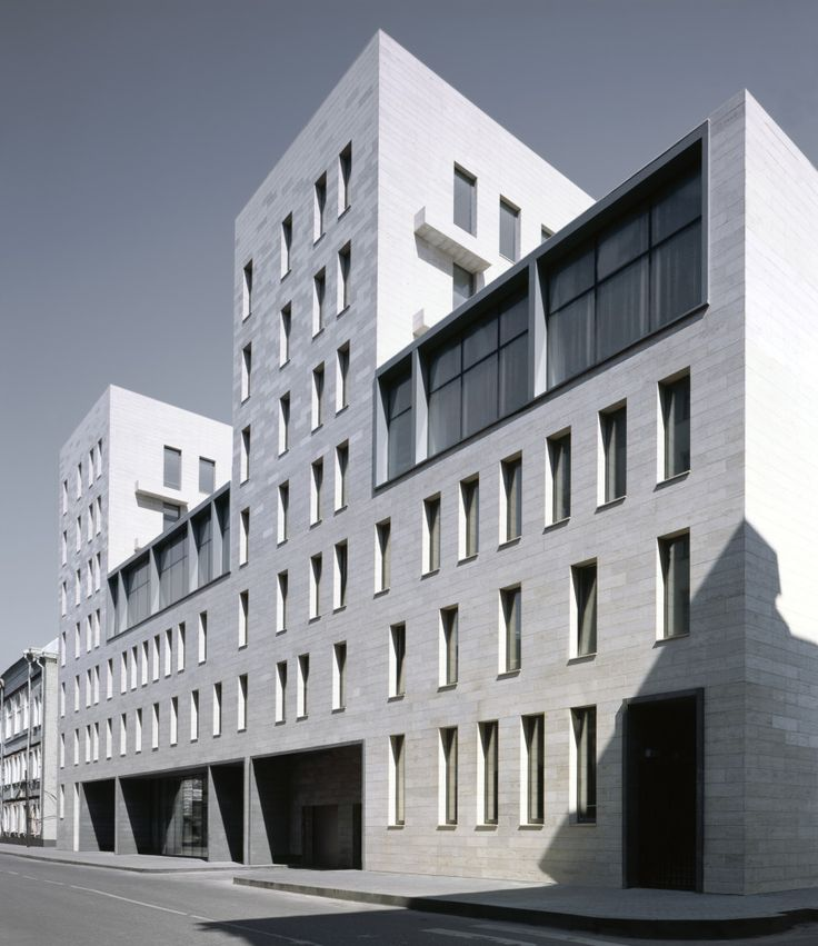 'Barkli Plaza' administrative and residential complex on Prechistenskaya quay : Sergey Skuratov Architects