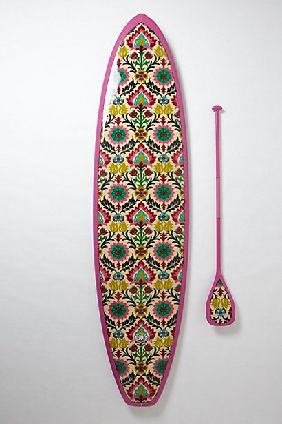 Limited-Edition Stand-Up Paddleboard, Kai Malo'o  #anthropologie