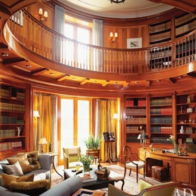 Library Study Room Ideas: Library/study Room