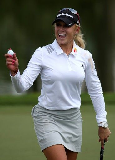 Natalie Gulbis' Body Paint Photos to Raise Funds for Episcopal School