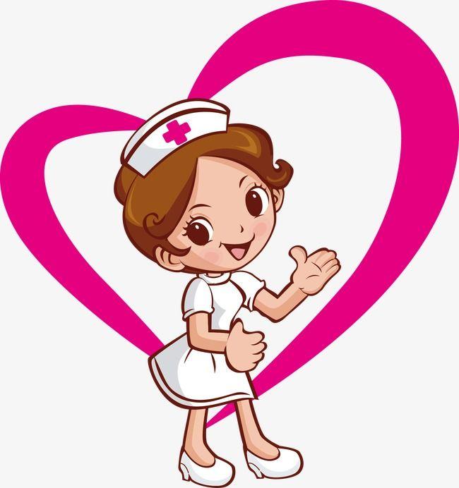 foto de Enfermeras Día En Forma De Corazon Imagenes de