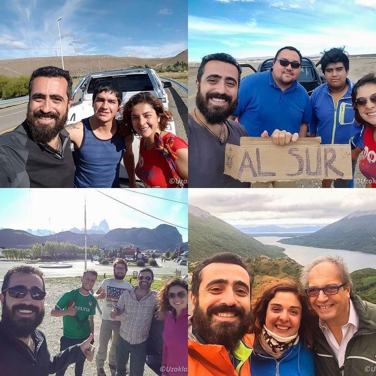 Dünyanın sonundaki şehir Ushuaia'ya yaptığımız otostop yolculuğunda yine birbirinden güzel insanlarla tanıştık. Daha düşük bütçeyle gezmek bir yana bu dostluklar yaşadığımız bu deneyim bizim için yolculuğun büyük kazançlarından. Tüm otostopçuların yolu açık olsun! #uzaklaryakin #ushuaia #Arjantin #patagonya #otostop