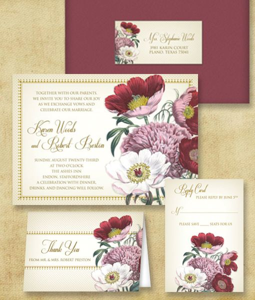 134 best DIY Wedding Invitation Templates images on Pinterest - invitation download template