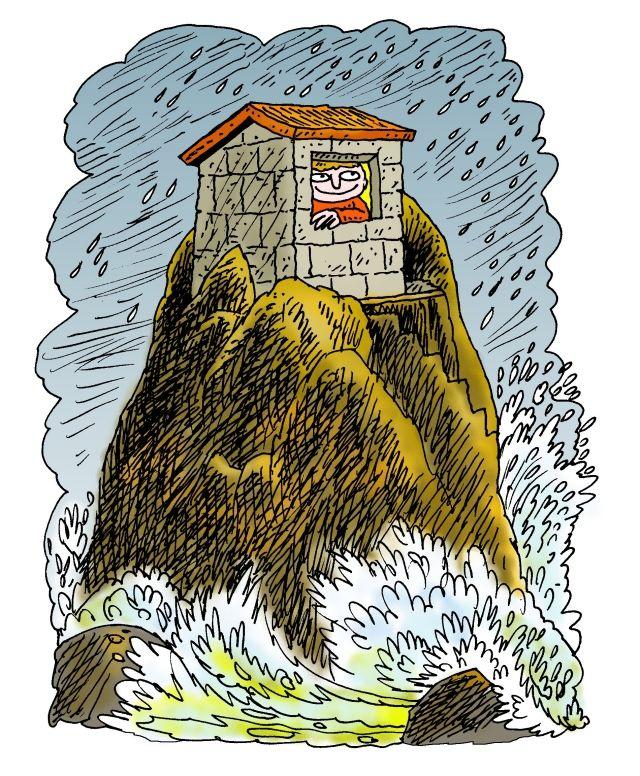 Casa en roca