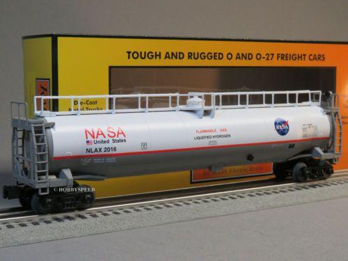 MTH-RAILKING-NASA-33K-GALLON-TANKER-CAR-o-gauge-train-U-S-A-Space-30-73472-NEW