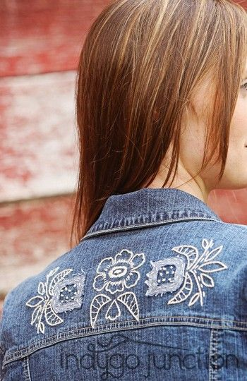embroidery designs      Shop Shabby Shack Vintage Denim in Courtyard Antiques (formerly known as Front Porch Antiques Mall) in the Mason Antiques District. Open 7 Days, 10 A.M. – 6 P.M. (517) 676-6388 Vintage Denim for Women & Children.
