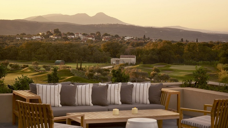 Practice your swing-Costa Navarino Resort
