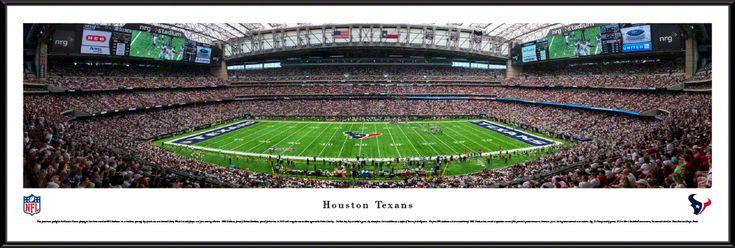 Houston Texans Panoramic Picture - NRG Stadium Panorama - Standard Frame $99.95