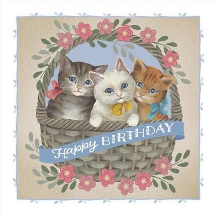 88 best cat birthday cards images on pinterest happy brithday found on bing bookmarktalkfo Gallery