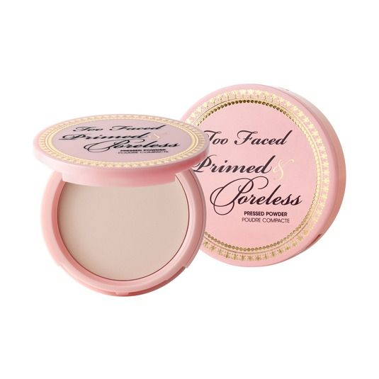 Best Pore Perfecting Setting Powders: Primed and Poreless Primer AND Setting Powder - Too Faced (One of my favorite powders! It can an actually prime and finish) 30.00 With just one brushstroke, pores disappear and skin glows with a stunning, soft-focus effect that can stand up to the harshest lighting. Wear our innovative, tried-and-true matte powder under foundation to prime skin, on top of makeup as a setting powder, or alone for a nearly-natural finish.