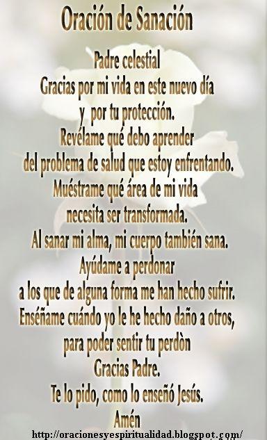 Oración de sanción.