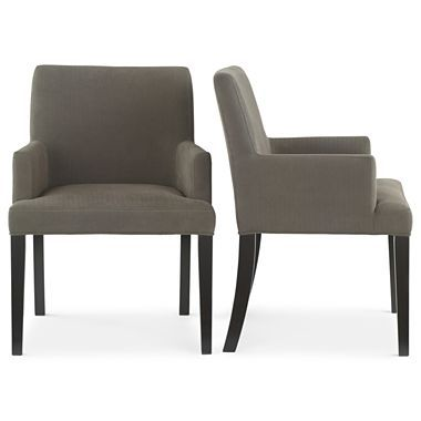 Studio tribeca arm chairs 350 for the pair jcpenney for Jcpenney dining room chairs