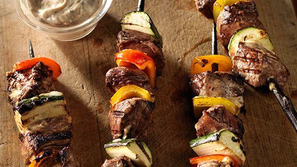 Balsamic+Beef+Shish+Kabobs