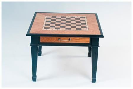 Arsstar Шахматный стол 'классический' (натуральное дерево - ясень, шпон черешня) 72х72х72см  — 15999 руб.  —  Шахматный стол 'классический' (натуральное дерево - ясень, шпон черешня) 72х72х72см