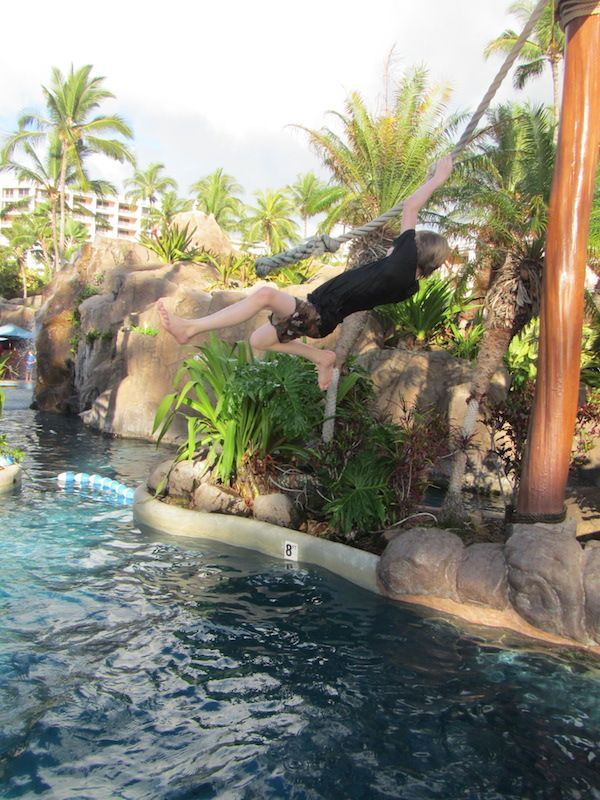 It's a kid's life at the Grand Wailea Resort in Maui