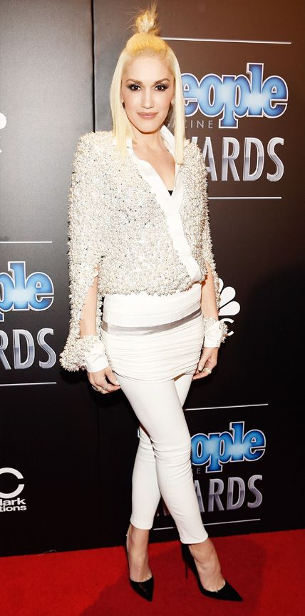 2014 People Magazine Awards: Standout Looks from the Red Carpet - Gwen Stefani from #InStyle