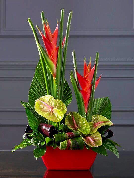 17 best images about tropical floral arrangements on. Black Bedroom Furniture Sets. Home Design Ideas