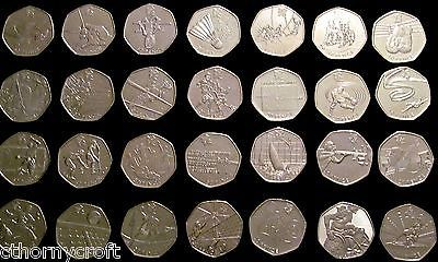 London 2012 #olympics 50p coin football judo tennis #wrestling #shooting sailing,  View more on the LINK: http://www.zeppy.io/product/gb/2/291306358336/