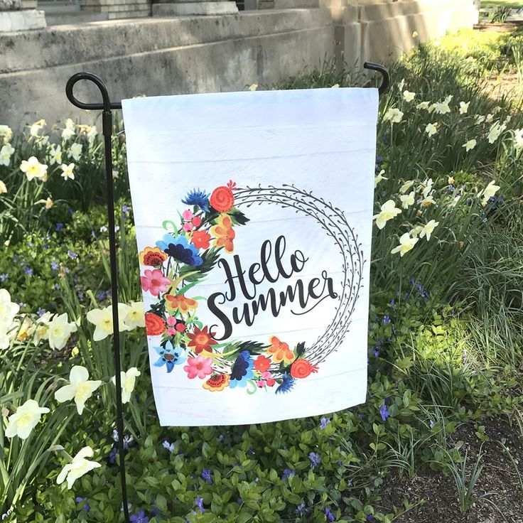 Make your yard and home beautiful with this festive garden and home flags.