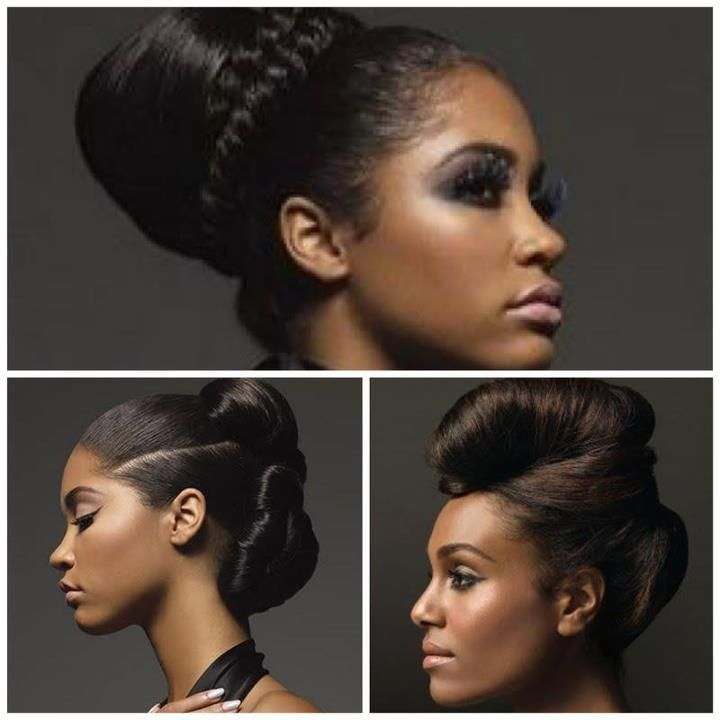 styles for relaxed hair 17 best images about healthy relaxed hair goals on 2545