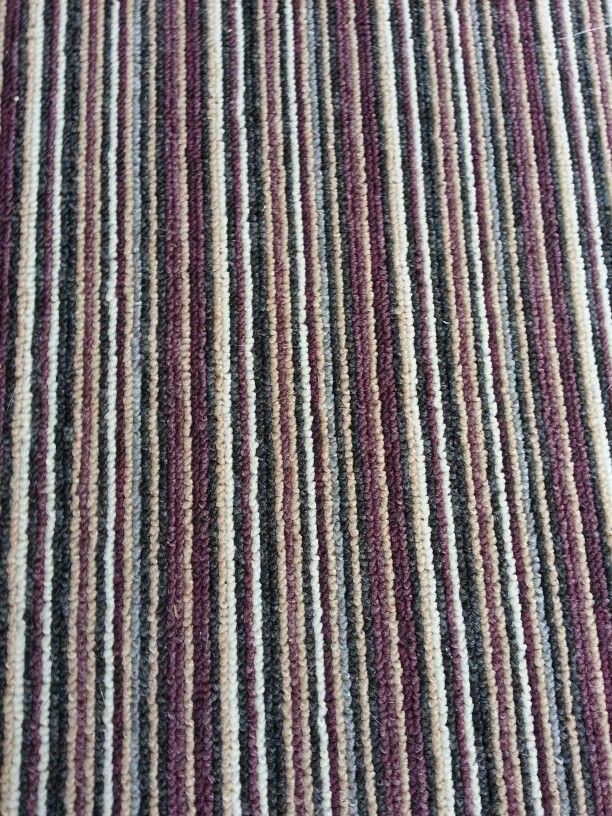 Stripey carpet