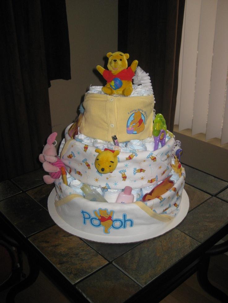 Diaper Cake Ideas Pinterest