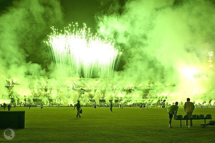 Green Hell da Torcida do Coritiba - Foto: Andre Raittz TODOS OS DIREITOS RESERVADOS