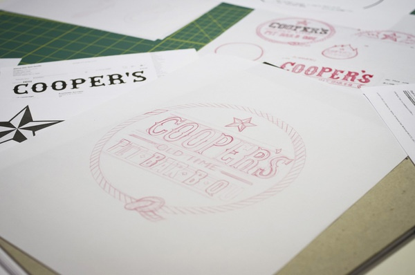 Cooper's Old Time Pit Bar-B-Q on the Behance Network