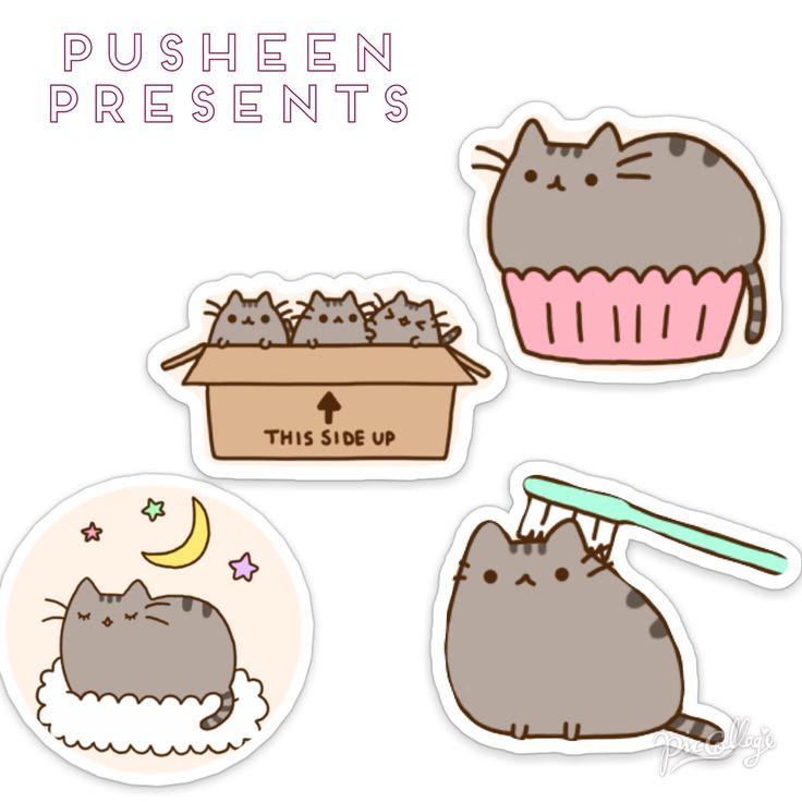 Pusheen | Strawberry Magazine New Years Special 2015 | Pinterest ...