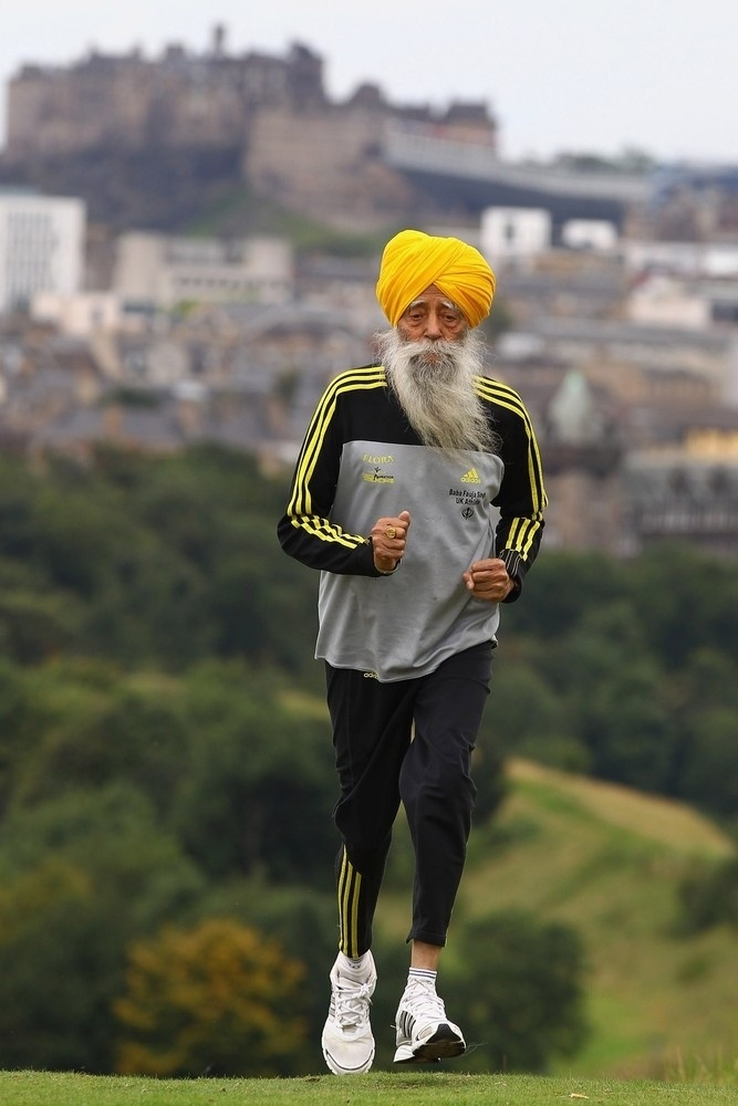 I hope nobody will forget or ignore me. ~Fauja Singh, 101-Year-Old Marathoner Prepares For His Final Race