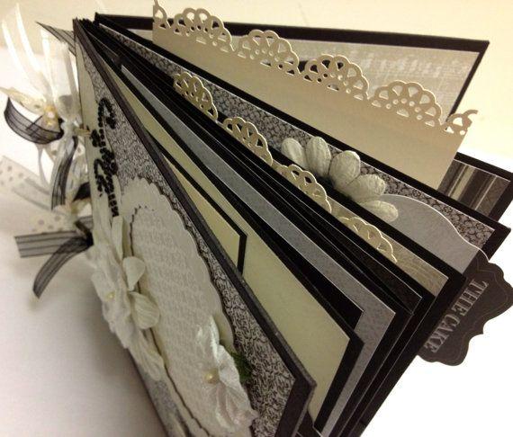 Premade Wedding Scrapbook Mini Album 6x6 Wedding by ArtsyAlbums, $42.99