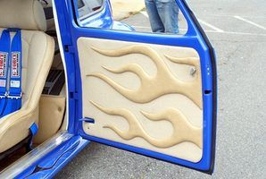 Building your own car door panels allows you to use better materials for construction.