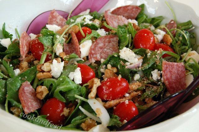 COOKANDFEED : ελληνική σαλάτα αλλιώς/A Different Greek Salad