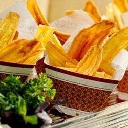 Aprenda a  fazer chips de banana verde