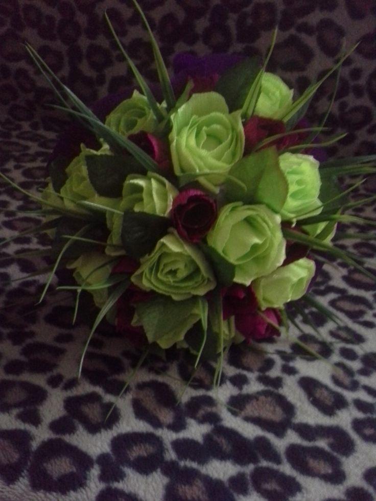słodki bukiet tulipany i róże