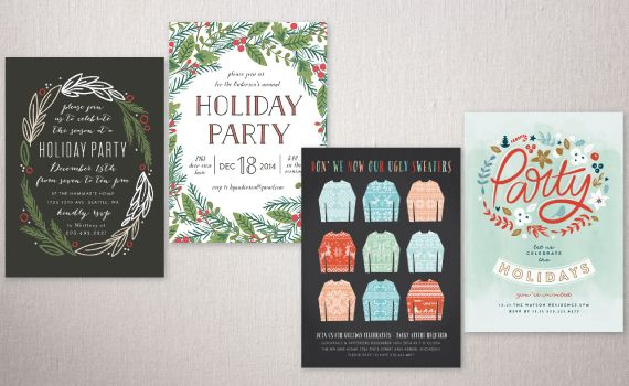 "Festive Affair Holiday Party Invitations Challenge: Runners Up for Traditional Colors Award - ""Floral Dance"" by Phrosne Ras 