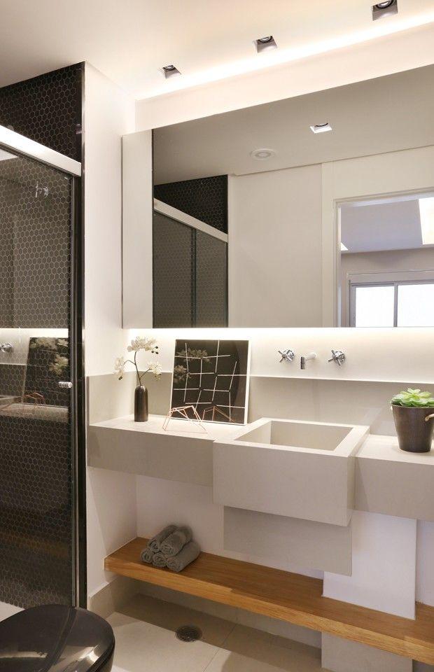 Logo após o divórcio, o dono desse apartamento, em Vila Ipojuca, São Paulo…
