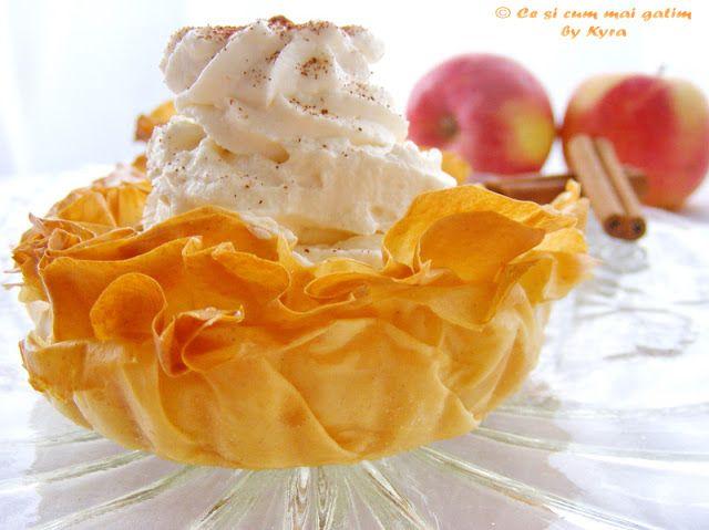 Ce si cum mai gatim: Mille-feuille cu mere caramelizate - Μιλφέιγ