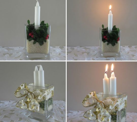 Christmas Table Decorating Ideas #Centrepiece #Christmas #BIGW_Hintsquad