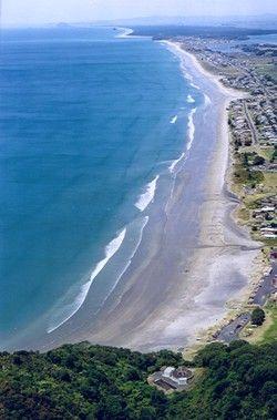 Waihi Beach, North Island, New Zealand