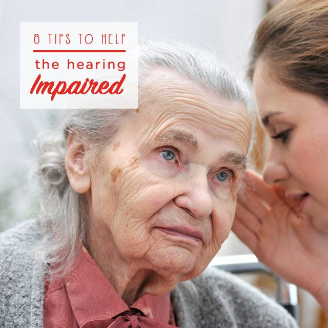 There's no need to shout! Discover our 8 tips guaranteed to help the hearing impaired eldery person in your care. Simply click on the picture to find out how.