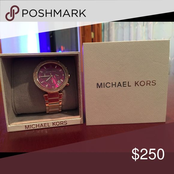 Michael Kors woman watch pink color Brain new in the box Michael Kors female watch pink color Michael Kors Other