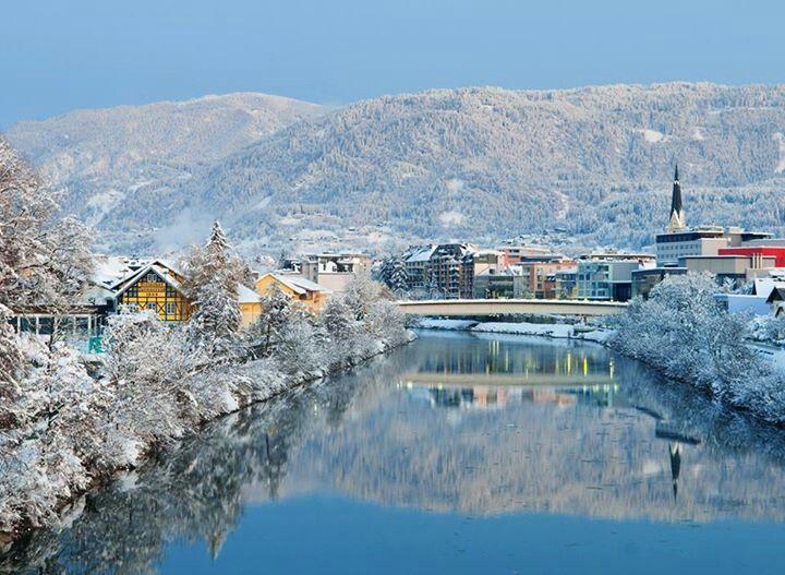 Beautiful scenery in Villach, Austria