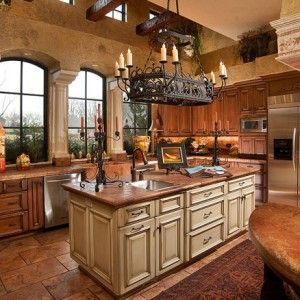 15 stunning mediterranean kitchen designs - Tuscan Kitchen Ideas